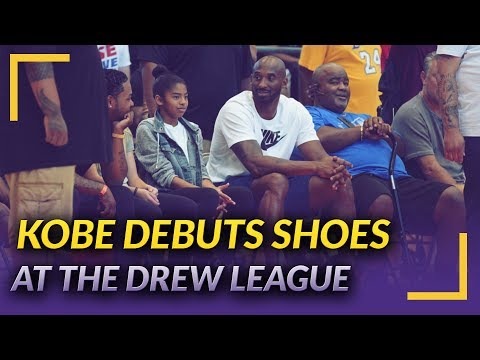 meet 975b5 c113c Lakers Nation News  Kobe Debuts New Shoes at Drew League Championship Game