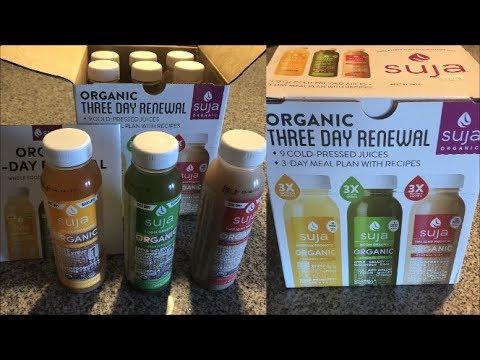 SUJA Juice Detoxification | 3 Day Juice Meal Plan