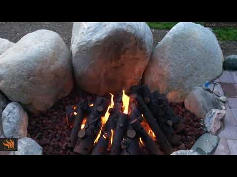 TimberCraft Metal Art Steel Gas Logs