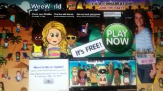 How to login to weeworld