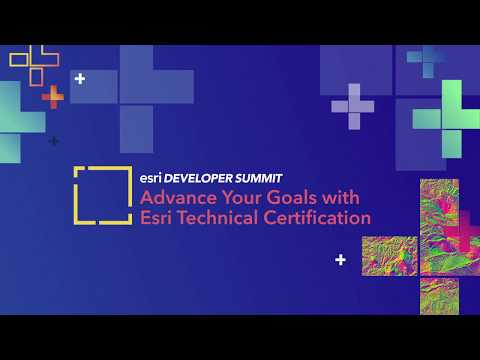 Advance Your Goals with Esri Technical Certification - YouTube