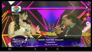 Duet Romantis !! Via Vallen Feat Sodik - Kandas - Live Bintang Pantura 4 Indosiar