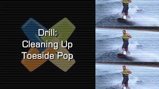 #4 Boat Wakeboard Intermediate – Cleaning up toeside pop