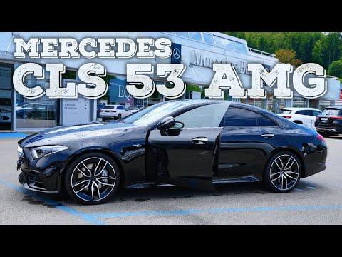 New Mercedes CLS 53 AMG 2021
