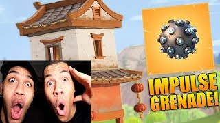 Die NEUE *IMPULSGRANATE* IST KRANK! | Fortnite Battle Royale | PrankBrosGames