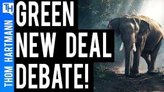 DEBATE: The Green New Deal Vs. Neoliberalism!