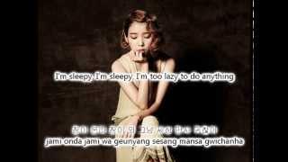 IU - 우울시계(Feat. 종현) (Gloomy Clock Ft. Jonghyun) [Eng+Rom+Han] Lyrics