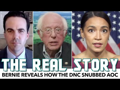 Bernie Reveals How The DNC Snubbed AOC