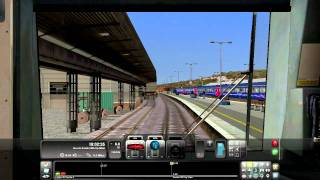 preview picture of video 'RailWorks 2 - Exeter St Davids'