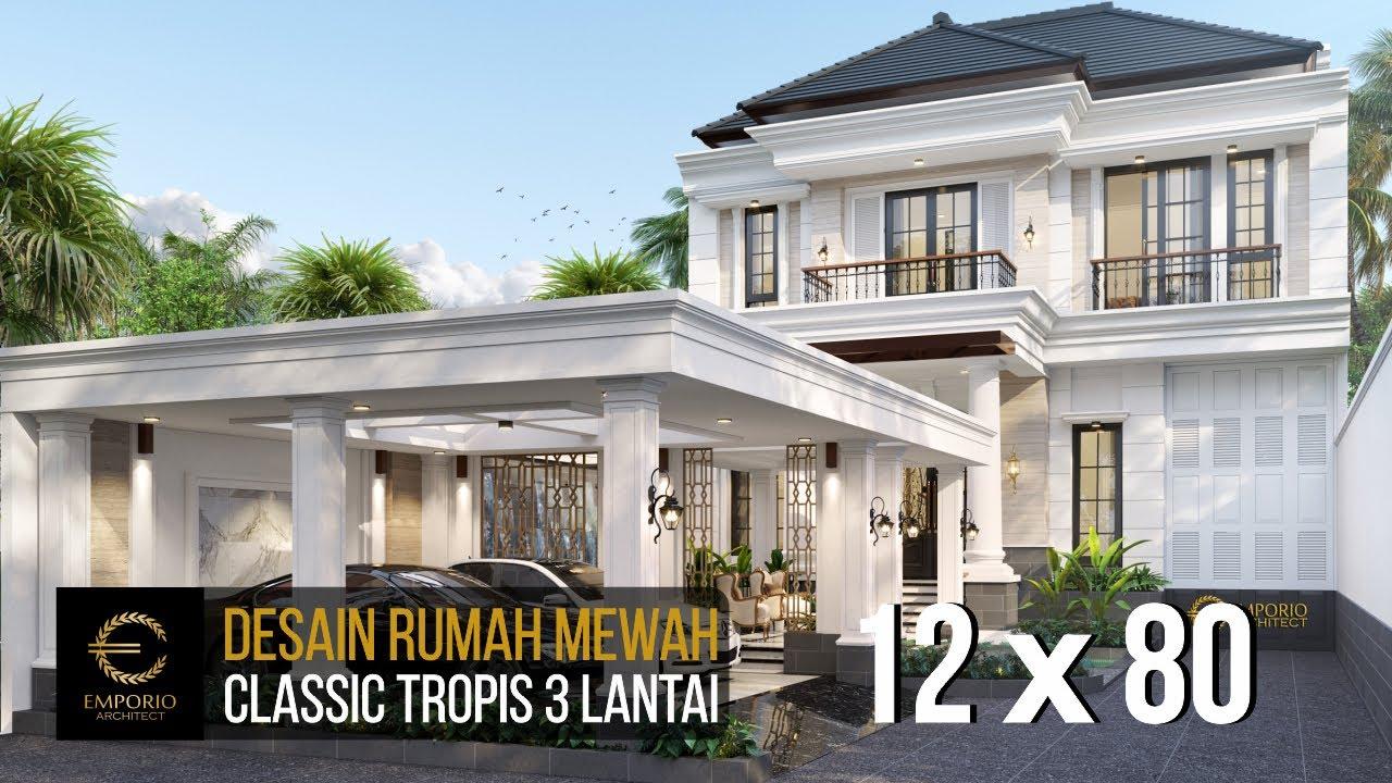 Video 3D Mr. Billy Classic House 3 Floors Design - Purworejo, Jawa Tengah