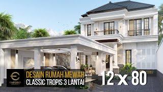Video Desain Rumah Classic 3 Lantai Bapak Billy di  Purworejo, Jawa Tengah