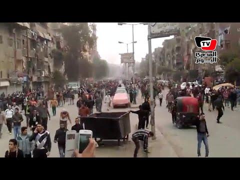 ذكرى ثورة ٢٥ يناير الرابعة| قوات الأمن تطلق قنابل الغاز لتفريق مسيرة الإخوان بالمطرية