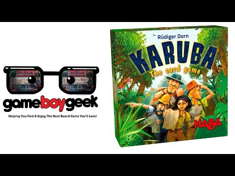 The Game Boy Geek Reviews Karuba the Card Gme