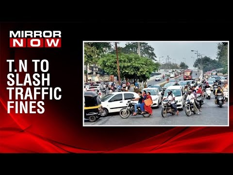 Traffic fines to be slashed in Tamil Nadu, traffic penalties to be slashed
