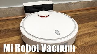 Mi Robot Vacuum Setup & Review - Automatic Vacuum Cleaner  It Works!