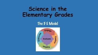 Science Matters Elementary Grades: Using The 5E Model