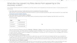How to find a ROKU IP ADDRESS?