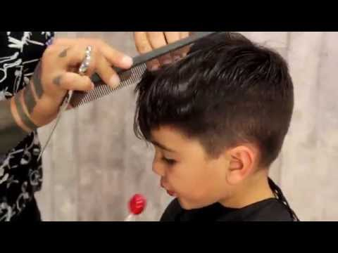How to give your kid a Mod Fade   Haircut Tutorial