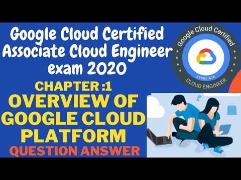 Google Cloud Certified Associate Cloud Engineer exam 2020  Ch ...