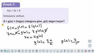 Eğitim Vadisi 10.Sınıf Matematik 10.Föy Fonksiyonlar 1 Konu Anlatım Videoları