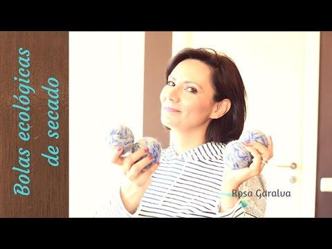 Bolas ecológicas de secado