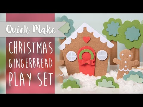 Gingerbread House Play Set - Sizzix