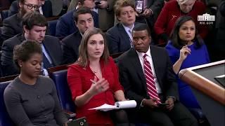Sarah Sanders Press Briefing on Wolff