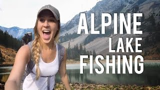 Fly Fishing an Alpine Lake   Explore the West