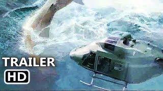 """THE MEG """"Megalodon Vs Helicopter"""" Trailer (NEW 2018) Jason Statham Shark Movie HD"""