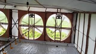 Uji Tanpa Beban, Blower 50 Inc Rakitan Sendiri Untuk Kandang Ayam Broiler Semi Close House