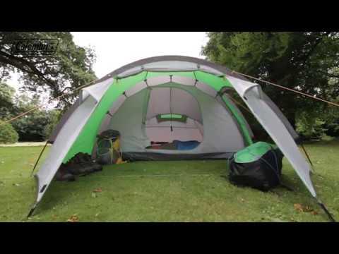 Coleman® Cortes 4 -  Familien Campingzelt für 4 Personen - DE