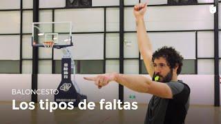 Los tipos de faltas | Baloncesto