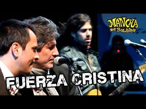 ¿Primer tema de campaña? La Mancha de Rolando estrenó video para Cristina Kirchner