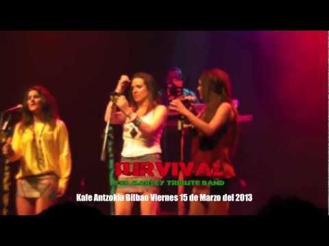 Survival Bob Marley Tribute Band Kafe Antzokia Bilbao Viernes 15 de Marzo del 2013