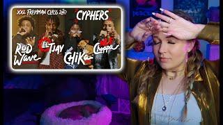 NLE Choppa, Rod Wave, Lil Tjay and Chika's 2020 XXL Freshman Cypher | REACTION