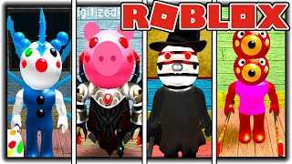 How To Get ALL 14 BADGES In PIGGY RP - SURVIVORS [ROBLOX]