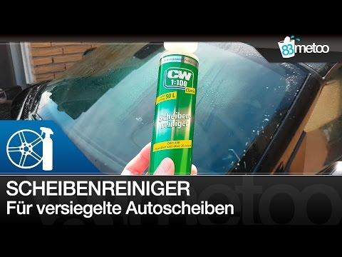 Scheibenreiniger Wischwasser bei Scheibenversiegelung | CW1:100 Classic Scheibenreiniger