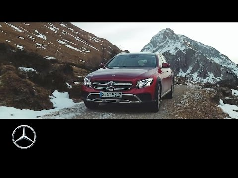 Mercedesbenz E Class All Terrain Универсал класса E - рекламное видео 4