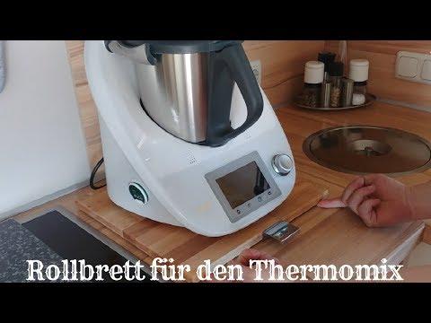 Rollbrett für den Thermomix / Thermomix Gleitbrett selbst bauen und wozu?