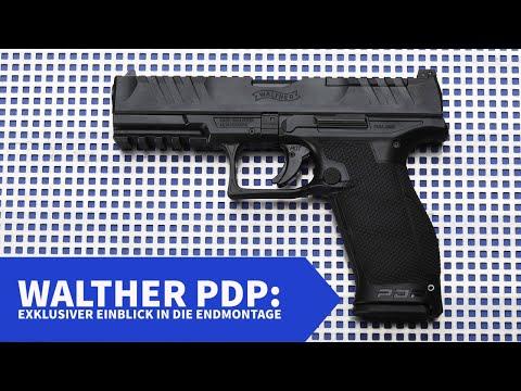 Exklusiv bei all4shooters.com: Video aus der Endmontage zur neuen Walther PDP. Verkaufsstart in Europa ist Anfang Juli 2021...