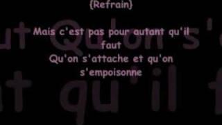 """Christophe Maé - """"On s'attache"""" (avec paroles)"""