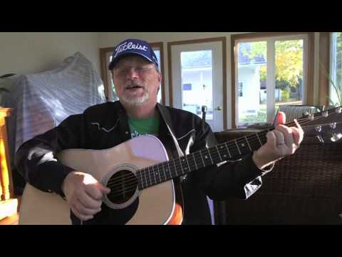 923 - Put Your Head On My Shoulder - acoustic cover of Paul Anka with Chords and Lyrics