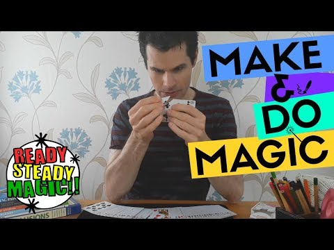 Torn Corner Card | Make & Do Magic | Ready Steady Magic