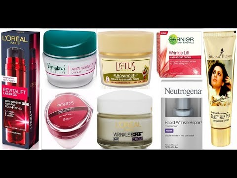 Top 10 Best Anti Wrinkle cream in india with price   best wrinkle cream 2018