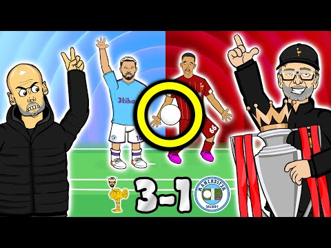✋3-1! Handball?✋ Pep LOSES IT! Liverpool vs Man City (2019 Goals Highlights Fabinho, Trent, Salah)