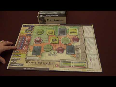 Fort Sumter: The Secession Crisis 1860-61 Unboxing