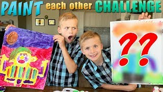 Paint Each Other Challenge