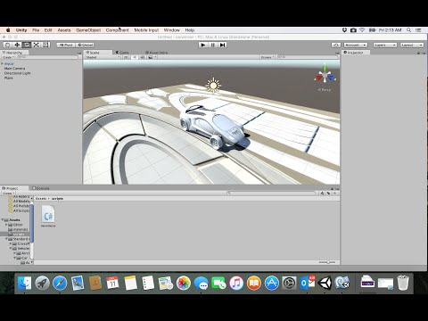 7- unity game| move the camera and car speed