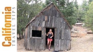 Big Horn Mine : Miner Vincent Cabin : LA Hiking Trails : California Travel Tips