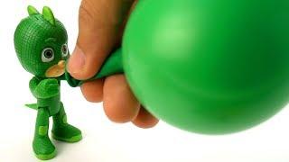 PJ MASKS Toys and Balloons to Learn Colors for Kids #PJMasks - La La